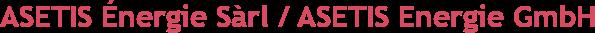 Logo 'ASETIS Energie GmbH'